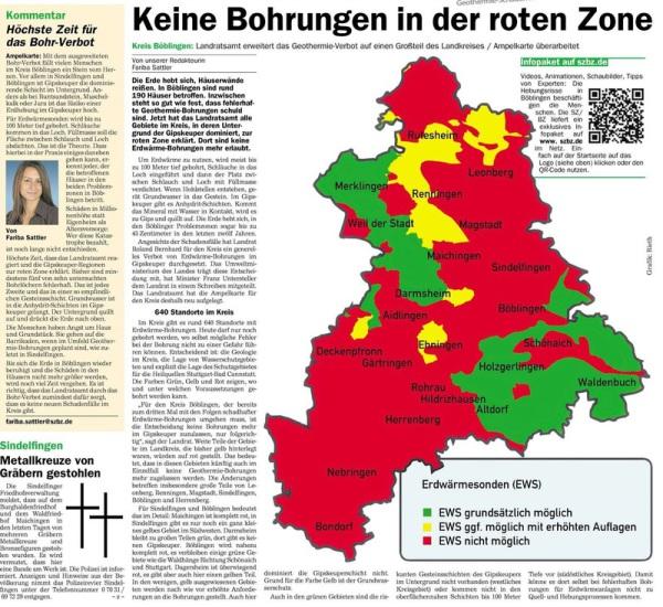 18.06.2014 Sindelfinger Zeitung / Böblinger Zeitung