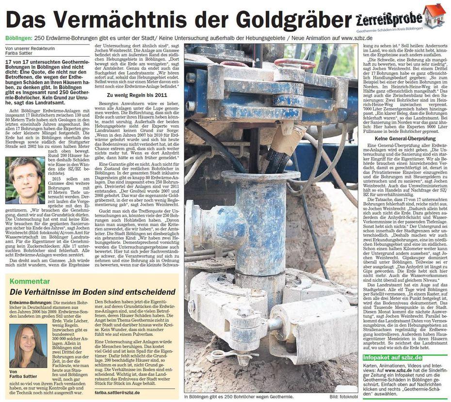 Das Vermächtnis der Goldgräber